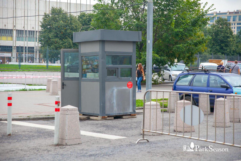 Пост охраны, «Музеон», Москва — ParkSeason