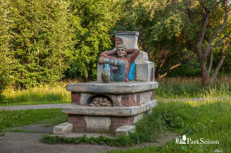 Скульптура Емели, Парк «Северное Тушино», Москва — ParkSeason