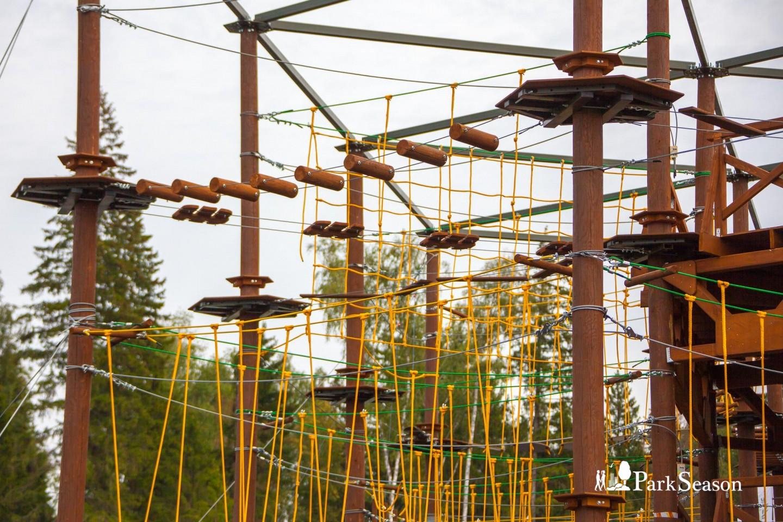 Веревочный парк GoPark, Парк «Патриот», Москва — ParkSeason