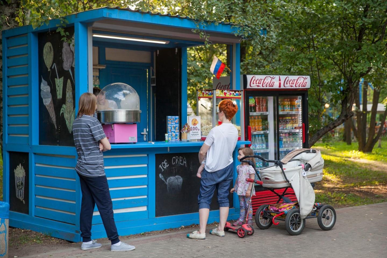 Мороженое, Парк «Северное Тушино», Москва — ParkSeason