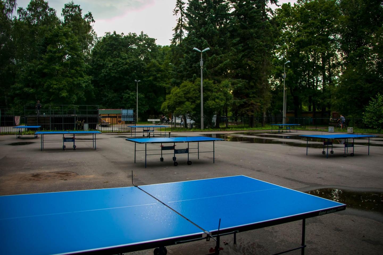 Прокат спортивного инвентаря и настольный теннис — ParkSeason