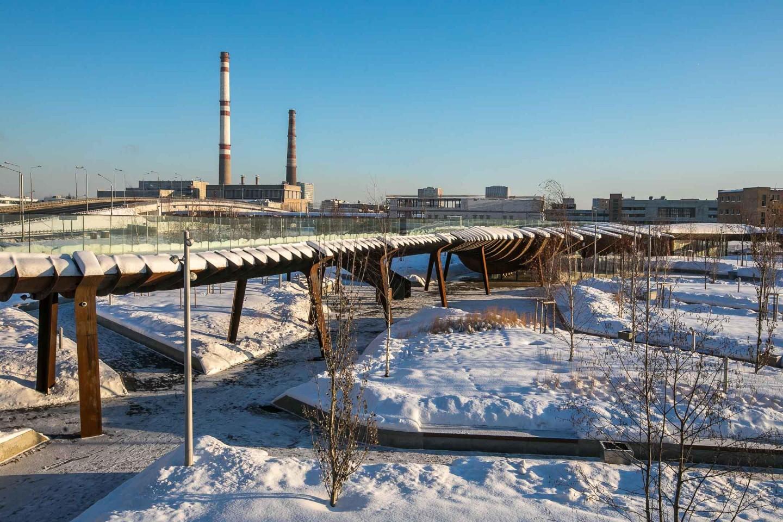 Мост, Парк Тюфелева роща, Москва — ParkSeason
