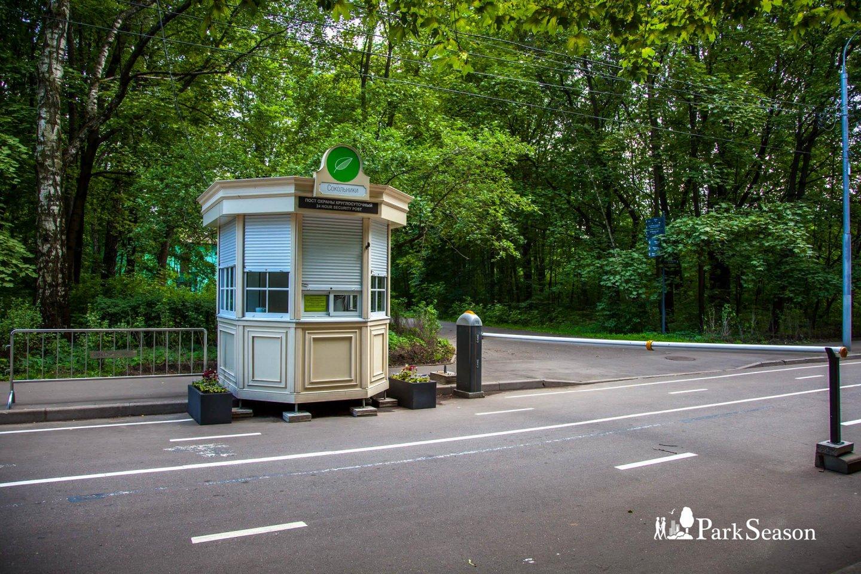 Пост охраны, Парк «Сокольники», Москва — ParkSeason