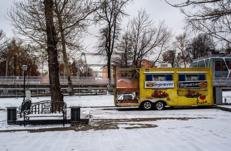 Фургон «Burger Бург», Сад «Эрмитаж», Москва — ParkSeason