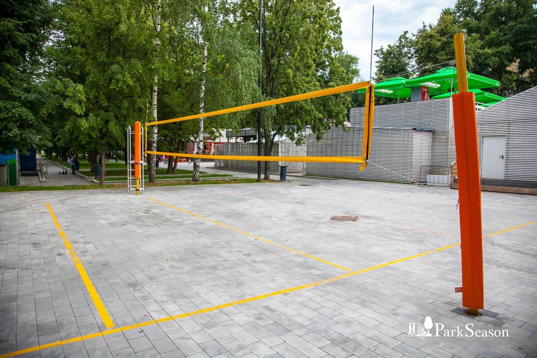 Волейбольная площадка, Сад им. Баумана, Москва — ParkSeason