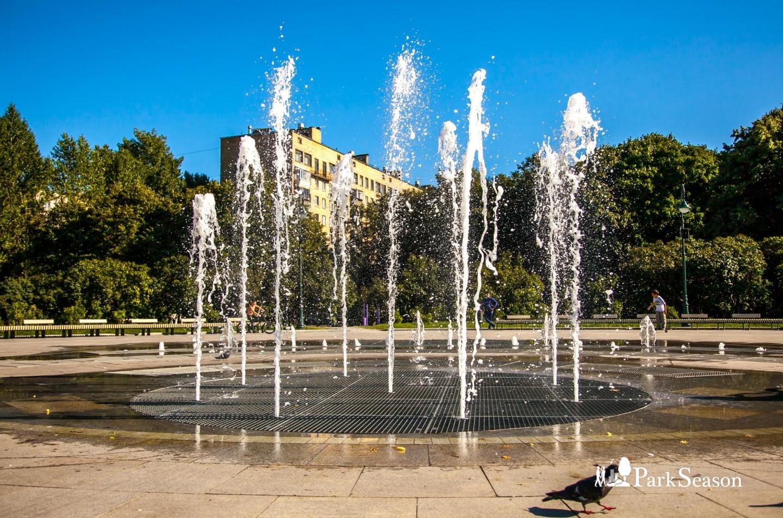 Фонтан, Сиреневый сад, Москва — ParkSeason