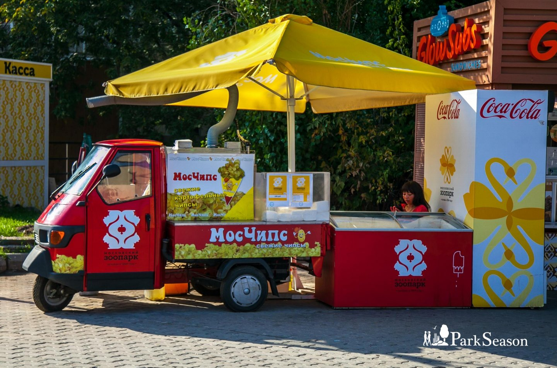 Лоток «Мосчипс», Московский зоопарк, Москва — ParkSeason