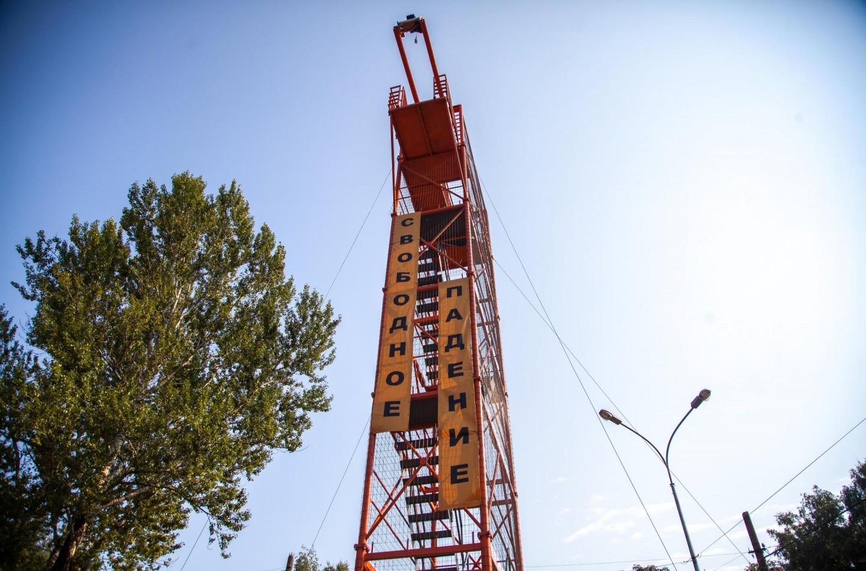 Аттракцион «Свободное падение», Парк «Измайловский», Москва — ParkSeason