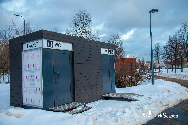 Туалеты, Парк Олимпийской деревни, Москва — ParkSeason