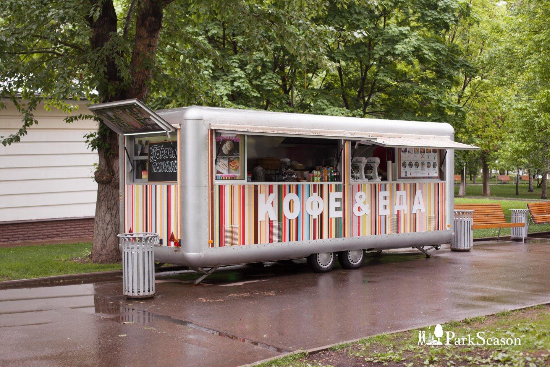 Киоск «Кофе и еда» (закрыли) — ParkSeason