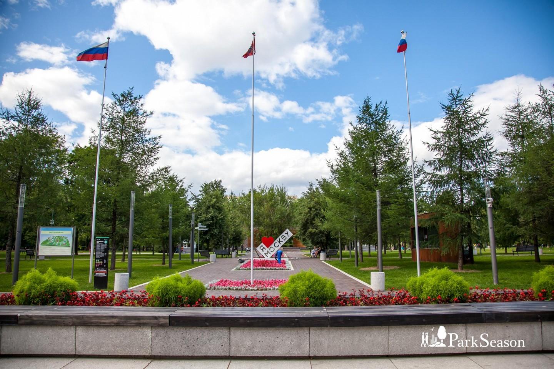 Главный вход, Гончаровский парк, Москва — ParkSeason