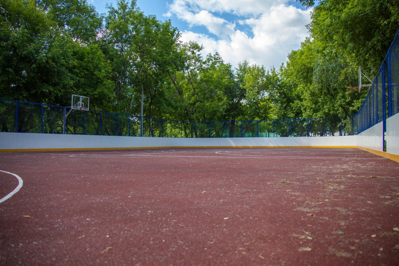 Спортивная площадка, Усадьба «Люблино», Москва — ParkSeason
