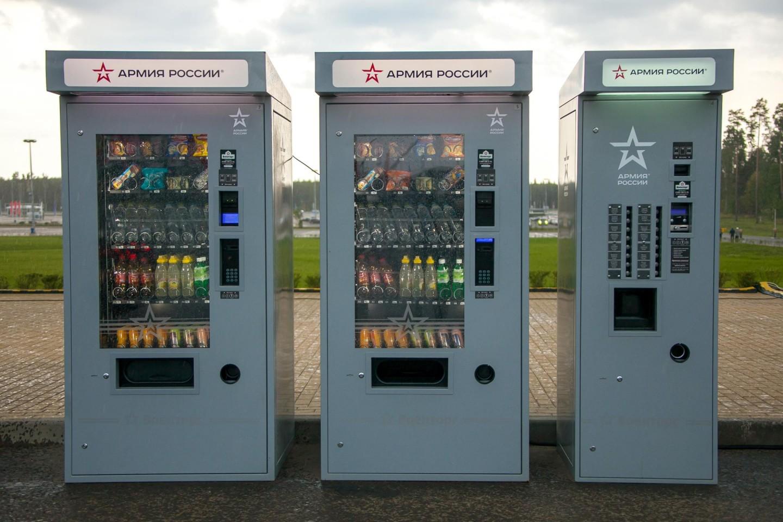 Автоматы с едой и напитками, Парк «Патриот», Москва — ParkSeason