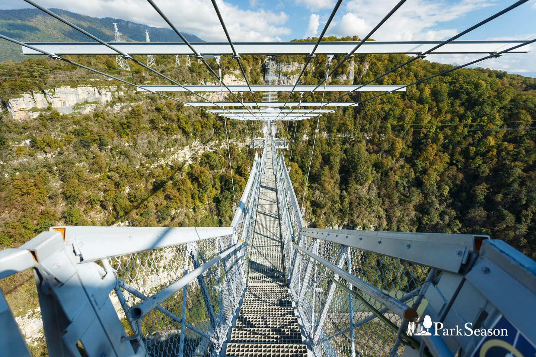 Подвесной мост «Скайбридж» — ParkSeason