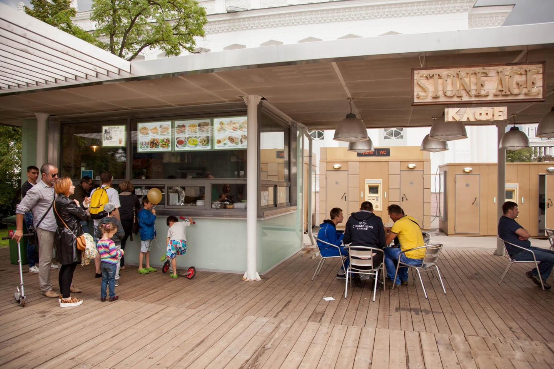 Кафе Halal, ВДНХ, Москва — ParkSeason