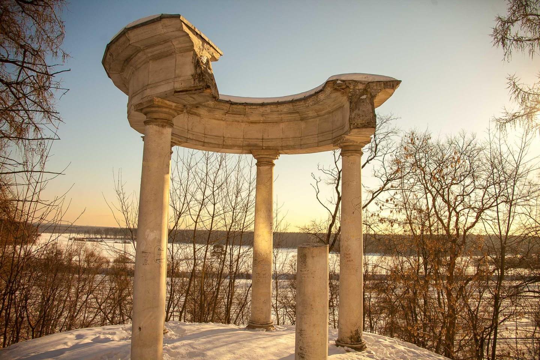 Ротонда, Музей-усадьба «Архангельское», Москва — ParkSeason
