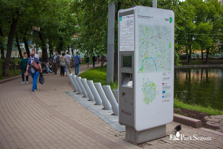 Городской велопрокат (закрыт до апреля 2019г) — ParkSeason