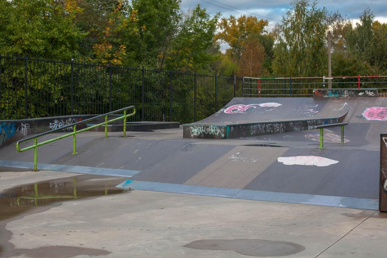 Скейт-парк, Парк «Измайловский», Москва — ParkSeason
