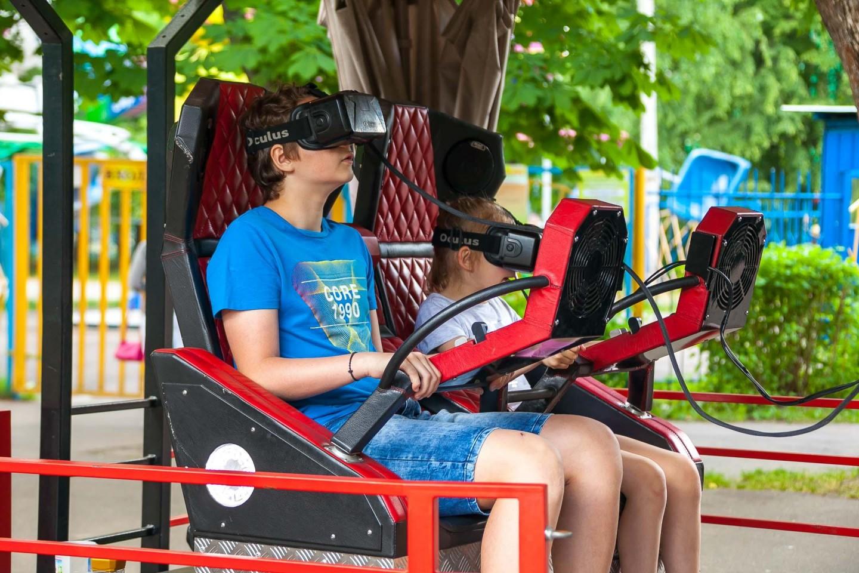 Аттракцион виртуальной реальности — ParkSeason