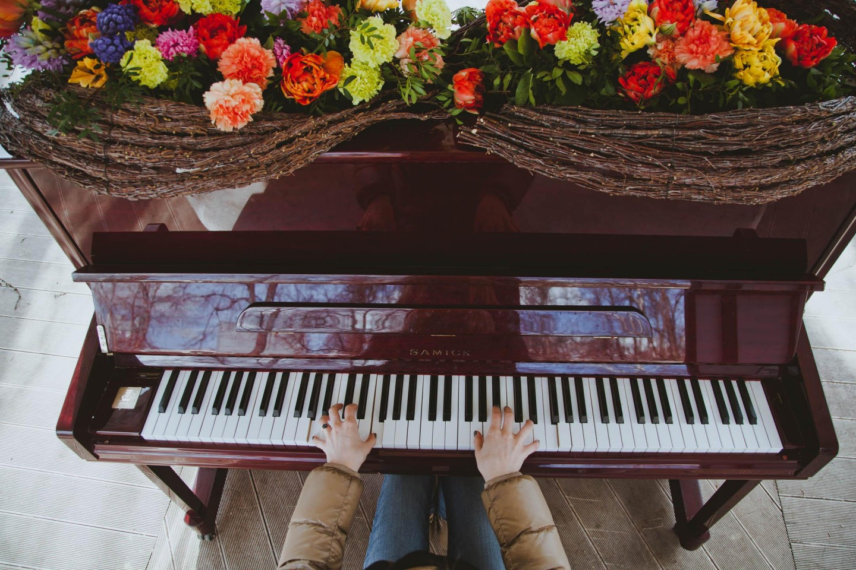 Уличное пианино (закрыто до весны 2019) — ParkSeason