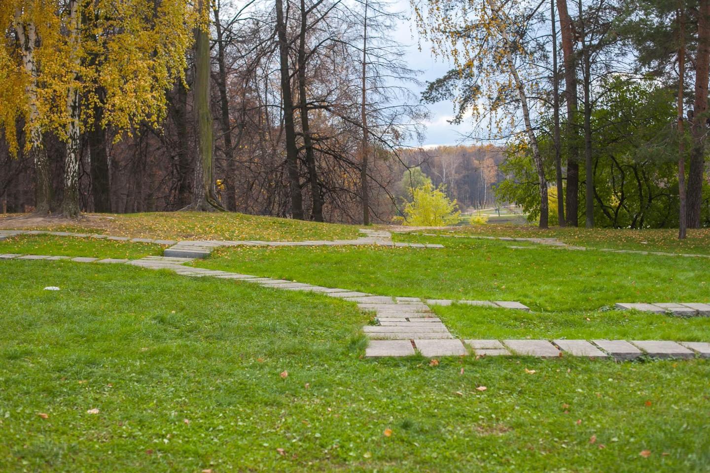 Контуры плана Крестообразного павильона, Музей-заповедник «Царицыно», Москва — ParkSeason