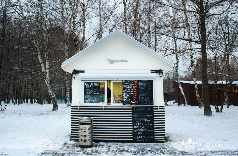 Киоск с уличной едой, Парк «Кузьминки», Москва — ParkSeason