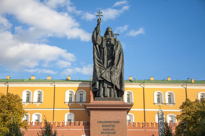 Памятник Патриарху Ермогену — ParkSeason