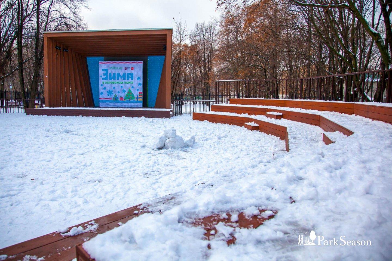 Деревянная сцена, Парк «Перовский», Москва — ParkSeason