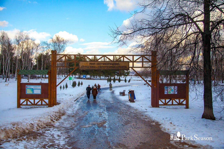 Главный вход, Строгинский парк, Москва — ParkSeason