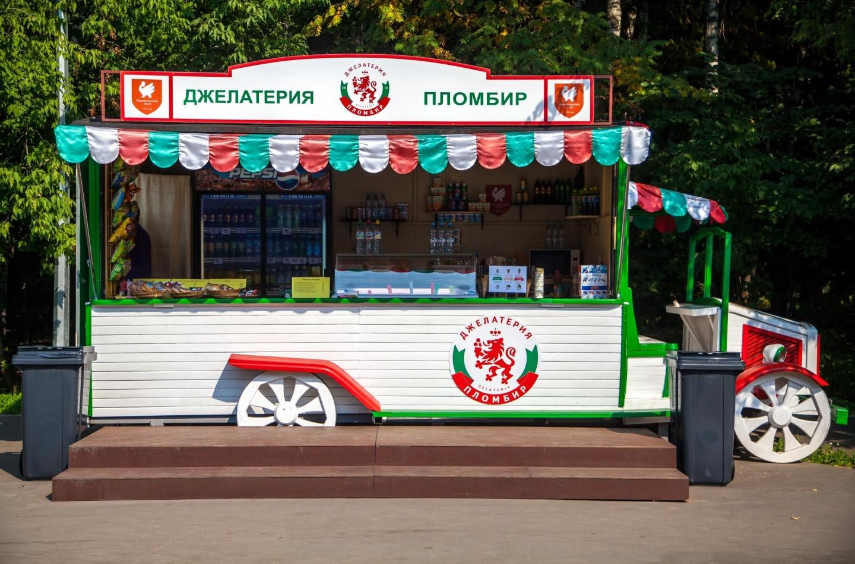 Джелатерия «Пломбир», Парк «Измайловский», Москва — ParkSeason