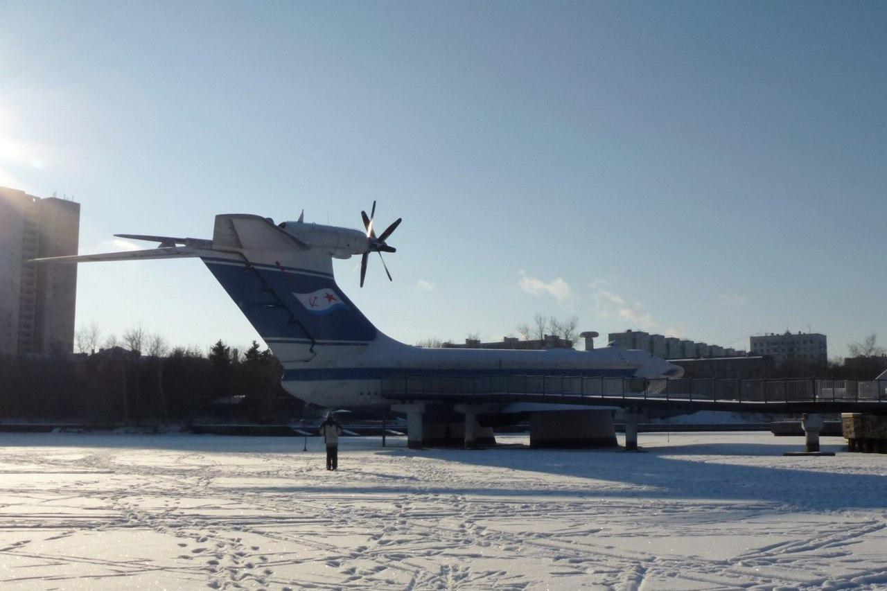 Тренировочный полет на экраноплане «Орленок», Парк «Северное Тушино», Москва — ParkSeason