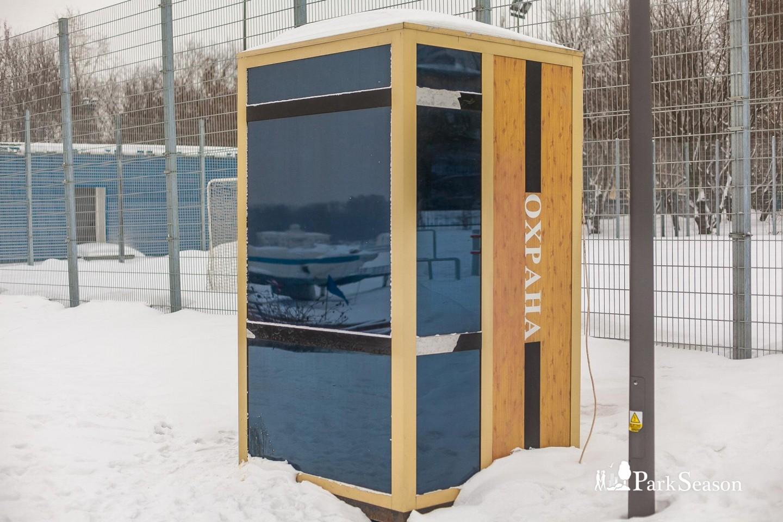 Пост охраны, Парк «Северное Тушино», Москва — ParkSeason