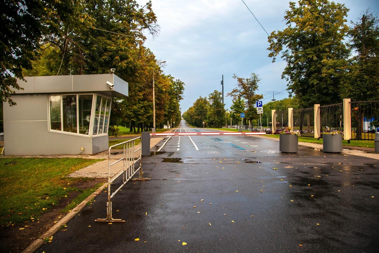 Вход в парк, Парк Победы на Поклонной горе, Москва — ParkSeason