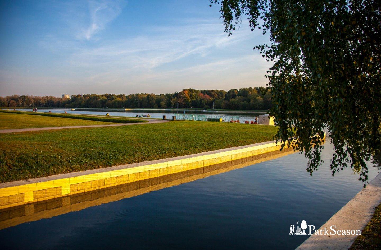 Большой Дворцовый пруд , Усадьба Кусково, Москва — ParkSeason