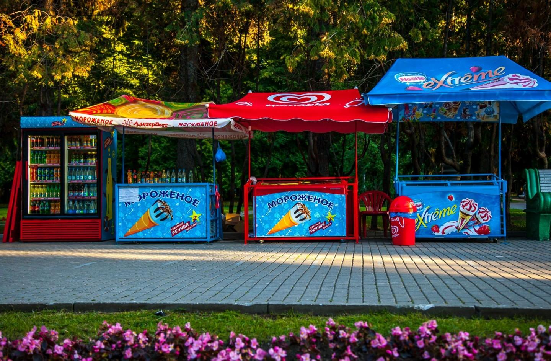 Мороженое, Парк Северного речного вокзала, Москва — ParkSeason