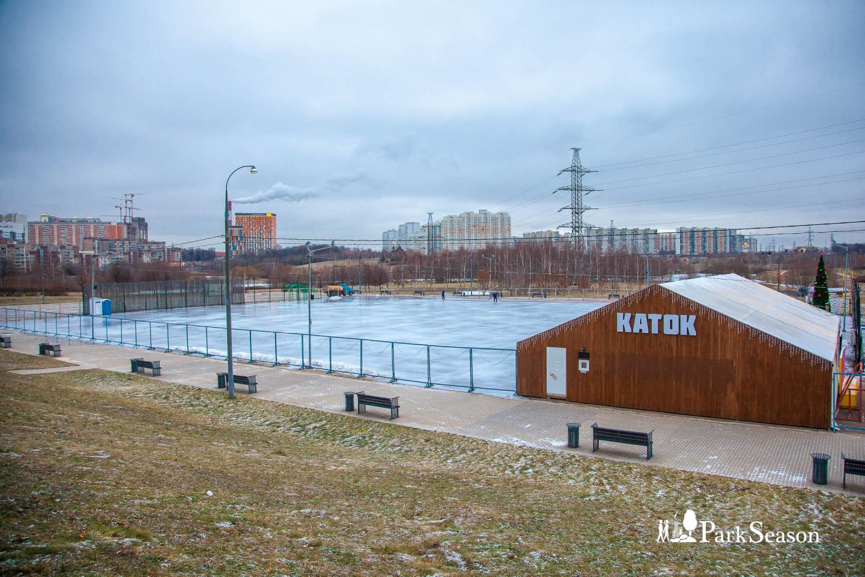 Большой каток в парке «Митино»  — ParkSeason