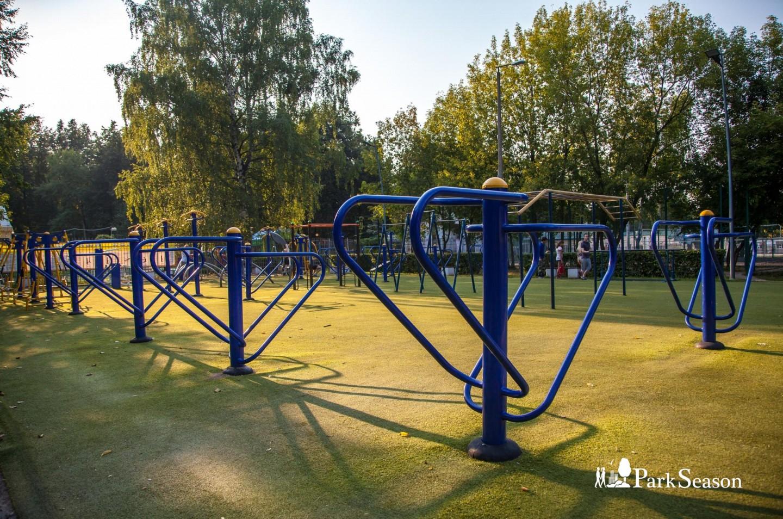 Уличные тренажеры, Парк «Измайловский», Москва — ParkSeason