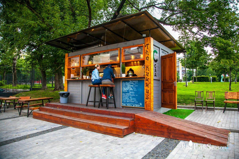 Киоск The Hummus, Сад им. Баумана, Москва — ParkSeason