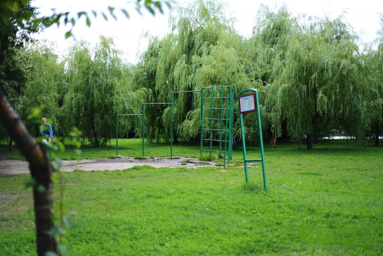 Площадка WorkOut, Парк Дружбы, Москва — ParkSeason
