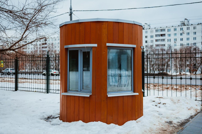 Пост охраны, Сиреневый сад, Москва — ParkSeason
