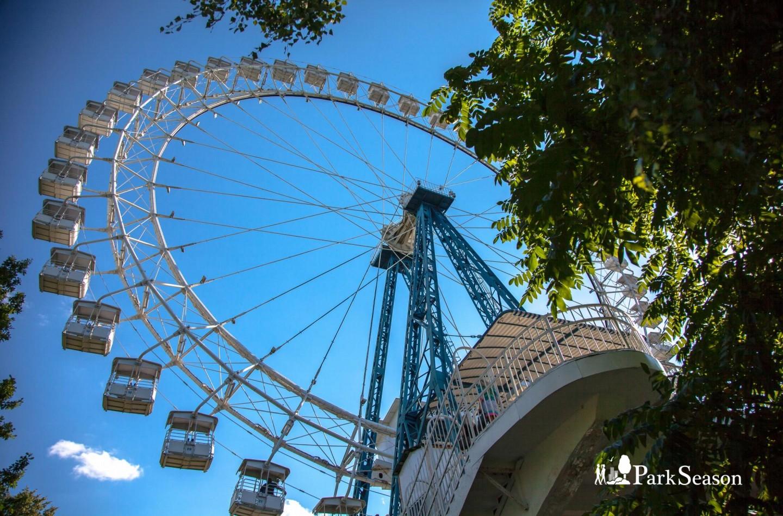 Большое колесо обозрения, Парк «Измайловский», Москва — ParkSeason