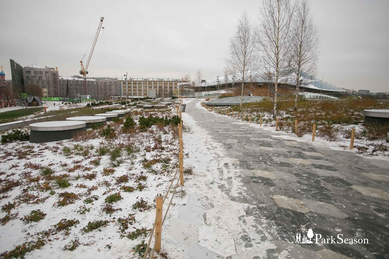 Северные ландшафты, Парк «Зарядье», Москва — ParkSeason