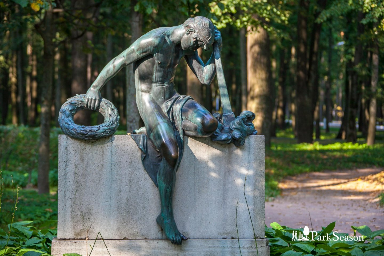 Скульптура «Скорбь», Музей-усадьба «Архангельское», Москва — ParkSeason