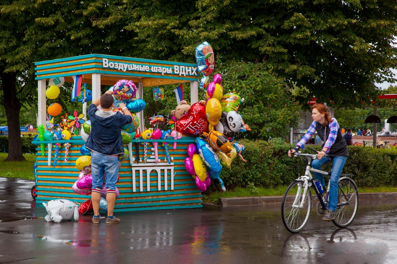 Воздушные шары, ВДНХ, Москва — ParkSeason