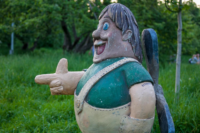 Скульптура «Карлсон», Парк «Северное Тушино», Москва — ParkSeason