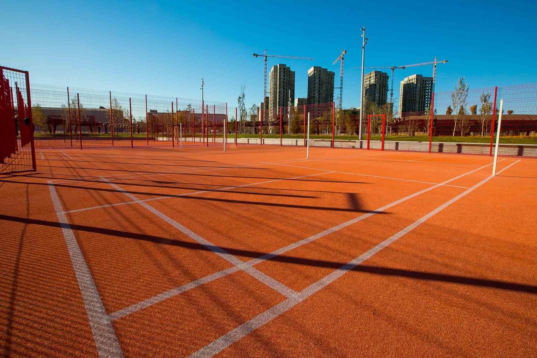 Спортивная площадка, Парк Тюфелева роща, Москва — ParkSeason