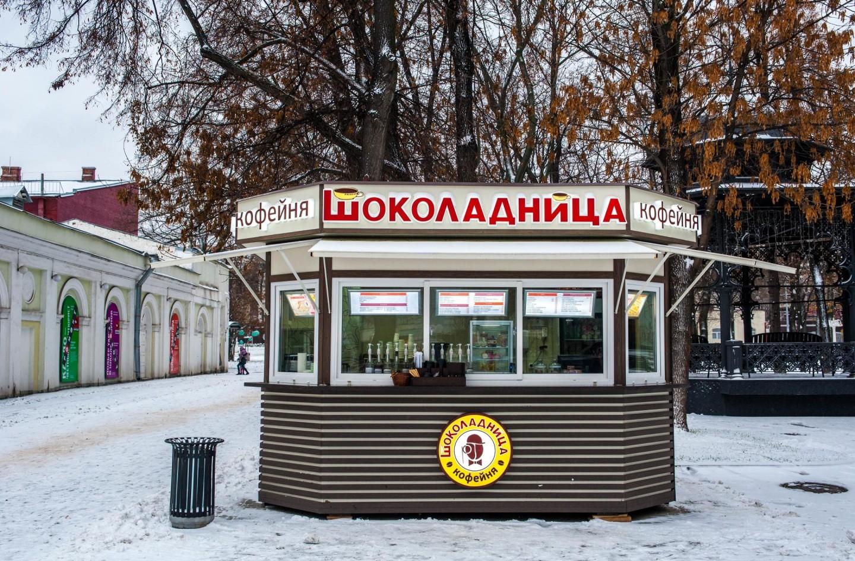 Киоск «Шоколадница», Сад «Эрмитаж», Москва — ParkSeason