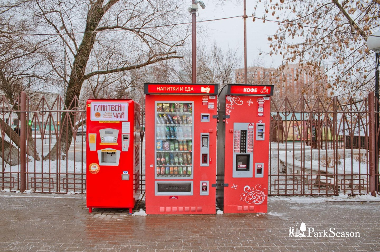 Автомат «Еда и Напитки», Усадьба «Воронцово», Москва — ParkSeason