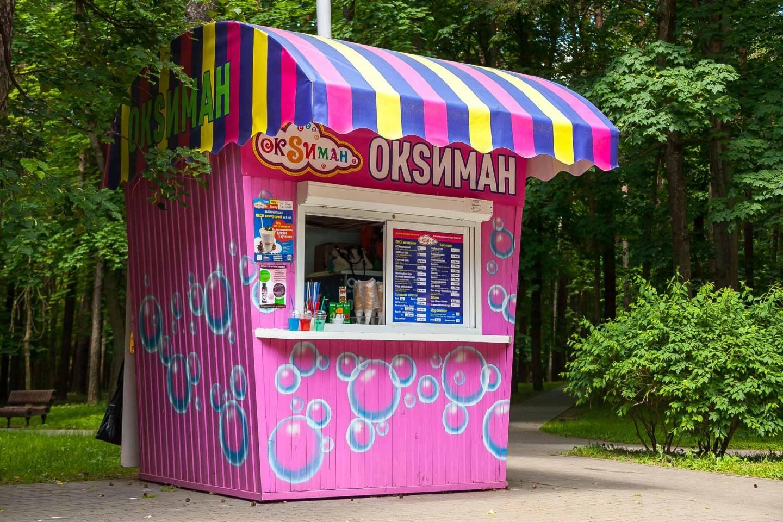 Киоск «Oksиман» — ParkSeason
