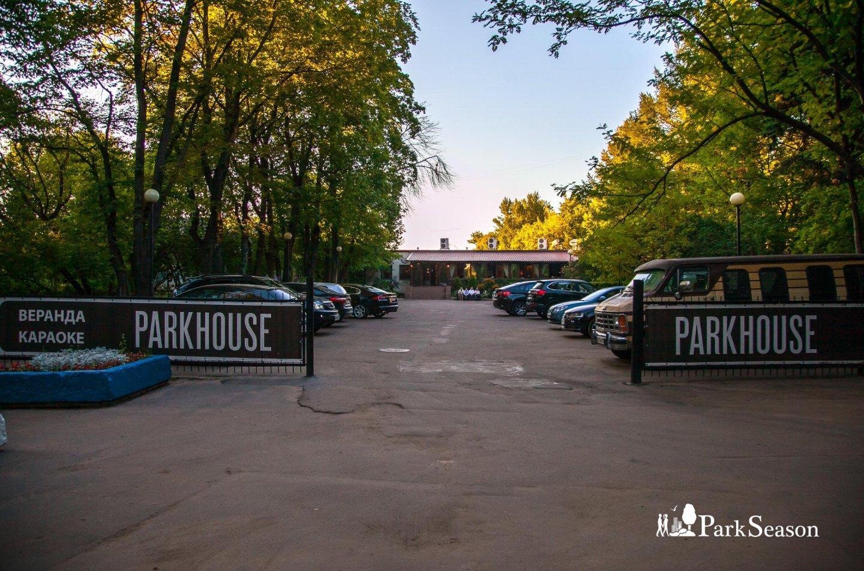 Ресторан Park House, Парк Северного речного вокзала, Москва — ParkSeason